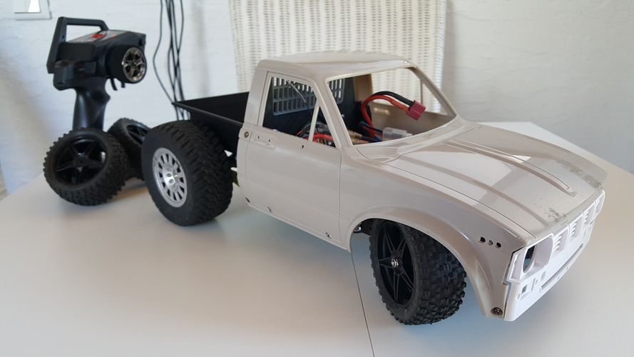 WlToys 12428 conversion kit for street racers / RC4WD Hilux 3D Print 243581