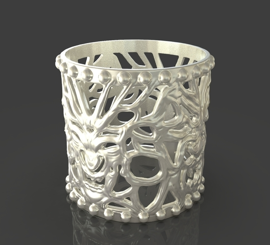 Jewelry Vampire And Wolfman Bracelet 3D Print 243633