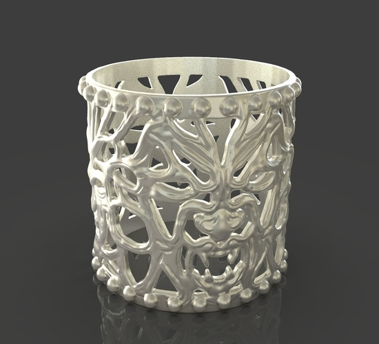 Jewelry Vampire And Wolfman Bracelet 3D Print 243634
