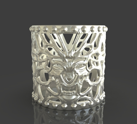 Jewelry Vampire And Wolfman Bracelet 3D Print 243637