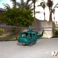 Small army chopper 3D Printing 24365