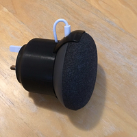 Small Google Home Mini - UK socket stand 3D Printing 243824