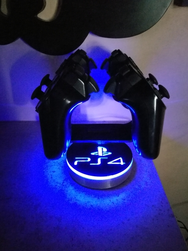 PS4 Joystick Holder 3D Print 243967