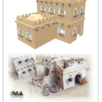 Small modular arabic building set II (stl file)  3D Printing 243993