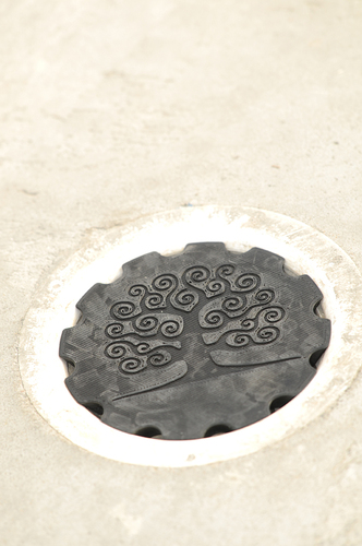 Floating floor drain cover 3D Print 24407