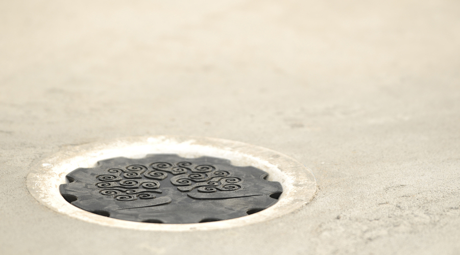 Floating floor drain cover 3D Print 24408