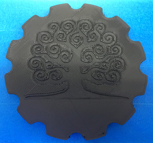Floating floor drain cover 3D Print 24411