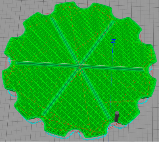 Floating floor drain cover 3D Print 24413