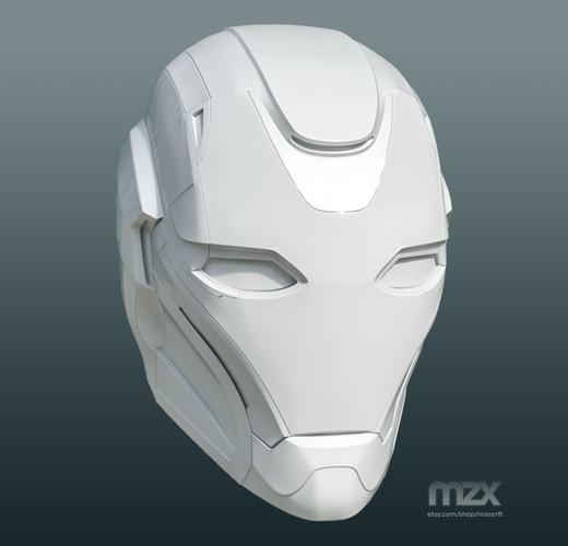 Pepper Pots Mark 49 helmet model for 3D-printing, DIY (may 16) 3D Print 244211