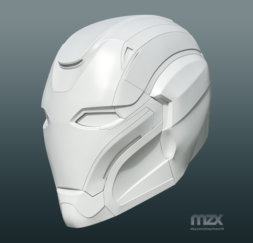 Pepper Pots Mark 49 helmet model for 3D-printing, DIY (may 16) 3D Print 244212