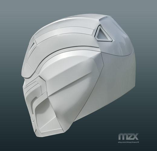 Pepper Pots Mark 49 helmet model for 3D-printing, DIY (may 16) 3D Print 244213