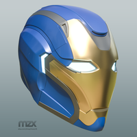 Small Pepper Pots Mark 49 helmet model for 3D-printing, DIY (may 16) 3D Printing 244217