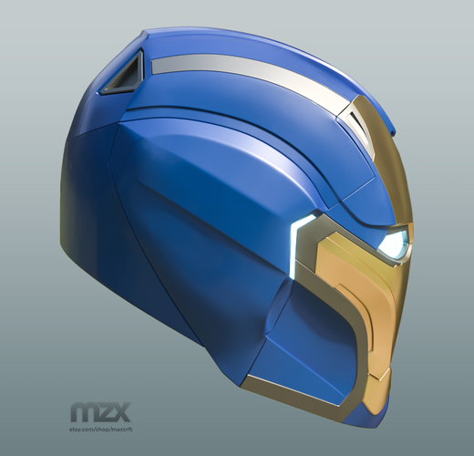 Pepper Pots Mark 49 helmet model for 3D-printing, DIY (may 16) 3D Print 244218