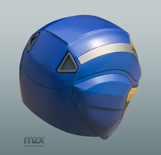 Pepper Pots Mark 49 helmet model for 3D-printing, DIY (may 16) 3D Print 244220
