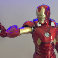 Small IRONMAN MARK VII 42cm 3D Printing 244308