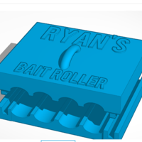 Small Bait Roller 3D Printing 244343