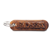 Small JENOBEBA Personalized keychain embossed letters 3D Printing 244369