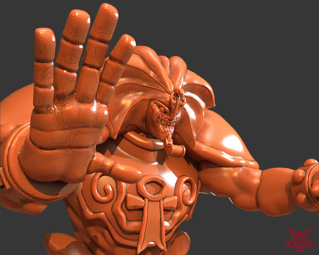 Exodia The Forbidden (Separate Parts) 3D Print 244458