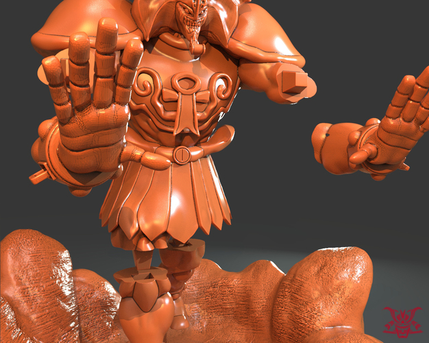 Exodia The Forbidden (Separate Parts) 3D Print 244467