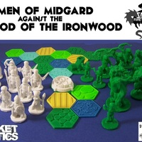 Small Pocket-Tactics Men of Midgard 3D Printing 2446