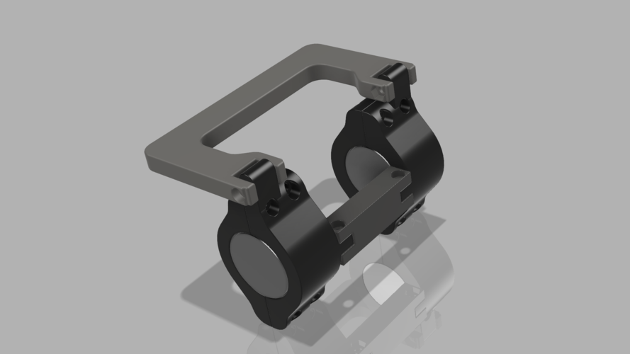 Transportation handle for ninebot ES1 - ES2 - ES4 3D Print 244622