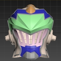 Small Helmet based on Goblin Slayer 3D Printing 244629