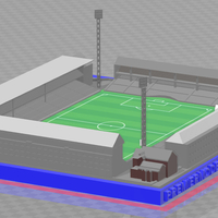 Small Everton - Goodison Park (1966) 3D Printing 244661