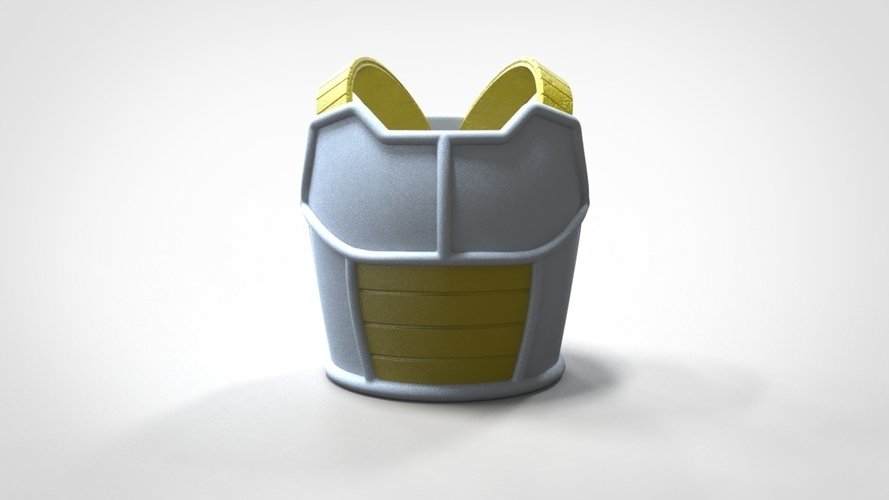 Saiyan Armor Vegeta Dragon Ball Z 3D print model 3D Print 244668