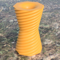 Small Reversible vase 3D Printing 244783
