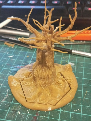 Adaptable Detailed Dead Tree 3D Print 244848