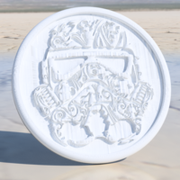 Small Stormtrooper 'deluxe' coaster 3D Printing 244850