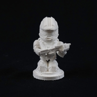 Small Master Chief Figurine 3D Printing 24500