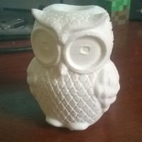 Small Owl Vase 3D Printing 24501