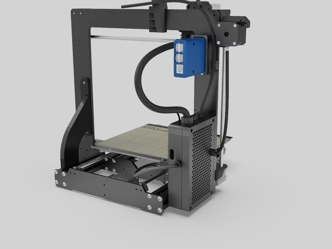 Case (YZ) for Prusa Einsy  Board 3D Print 245020