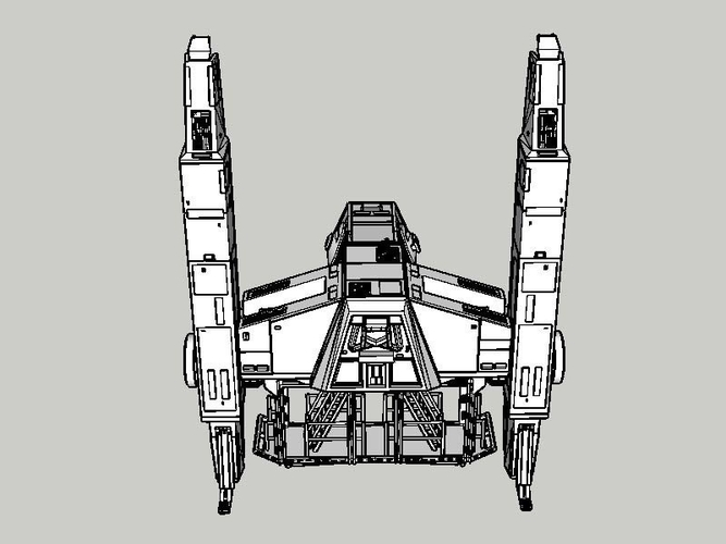 At Hauler 3.75 model for use with star wars hasbro line 3D Print 245160