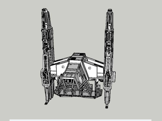 At Hauler 3.75 model for use with star wars hasbro line 3D Print 245162