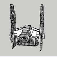 Small At Hauler 3.75 model for use with star wars hasbro line 3D Printing 245162