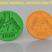 Small Coaster mystery 3D Printing 245224