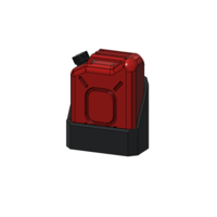 Small Jerrycan 1/10 3D Printing 245290