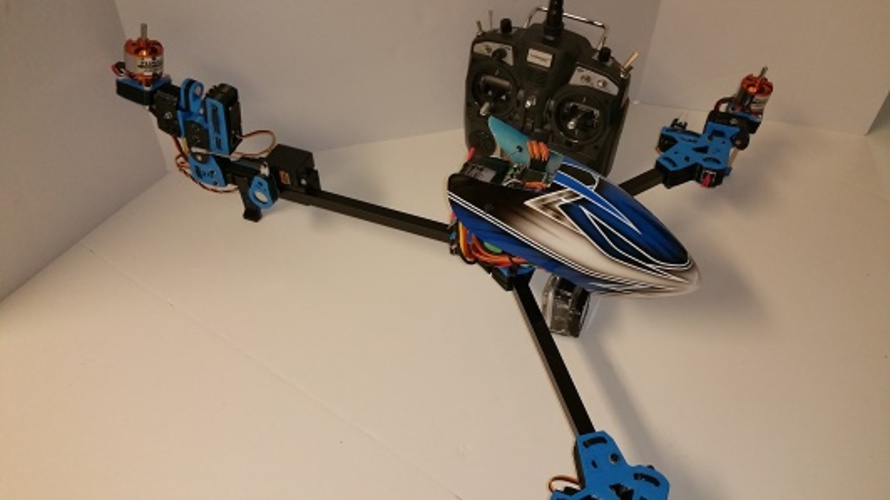 Shift TriCopter 3D Print 24530