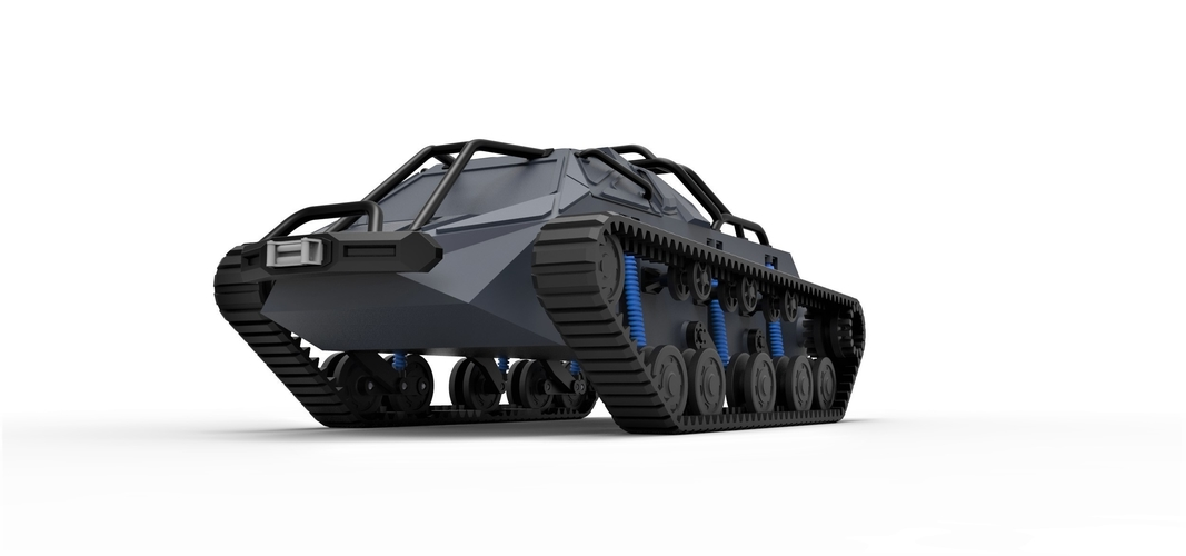 Diecast model Ripsaw EV2 pickup body Scale 1:24 3D Print 245307