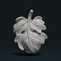 Small Fig Leaf 3D Printing 245373