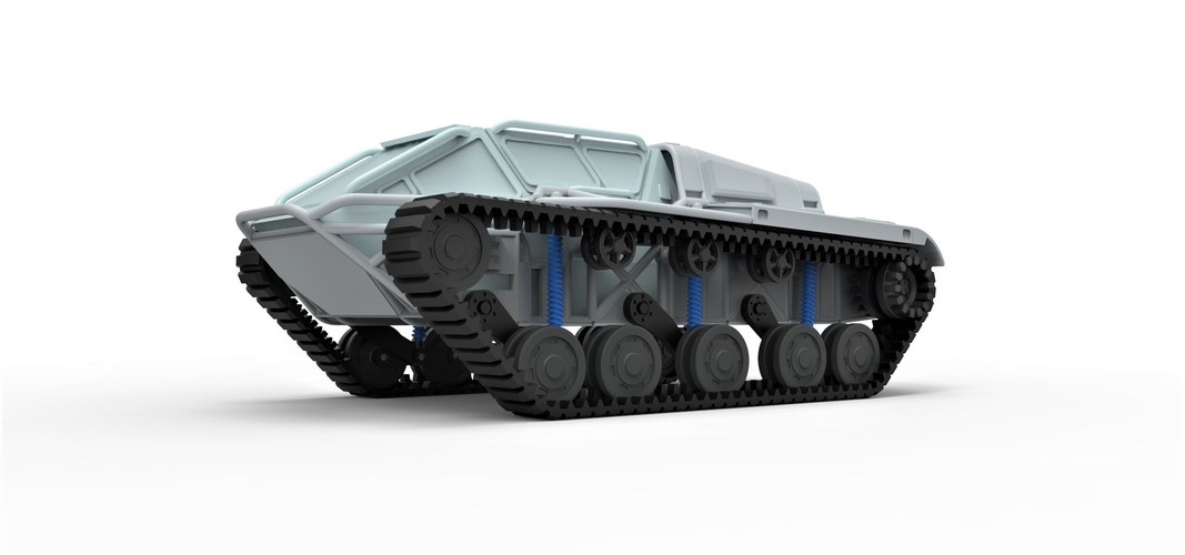 Diecast model Ripsaw EV3-F4 Scale 1 to 24 3D Print 245388