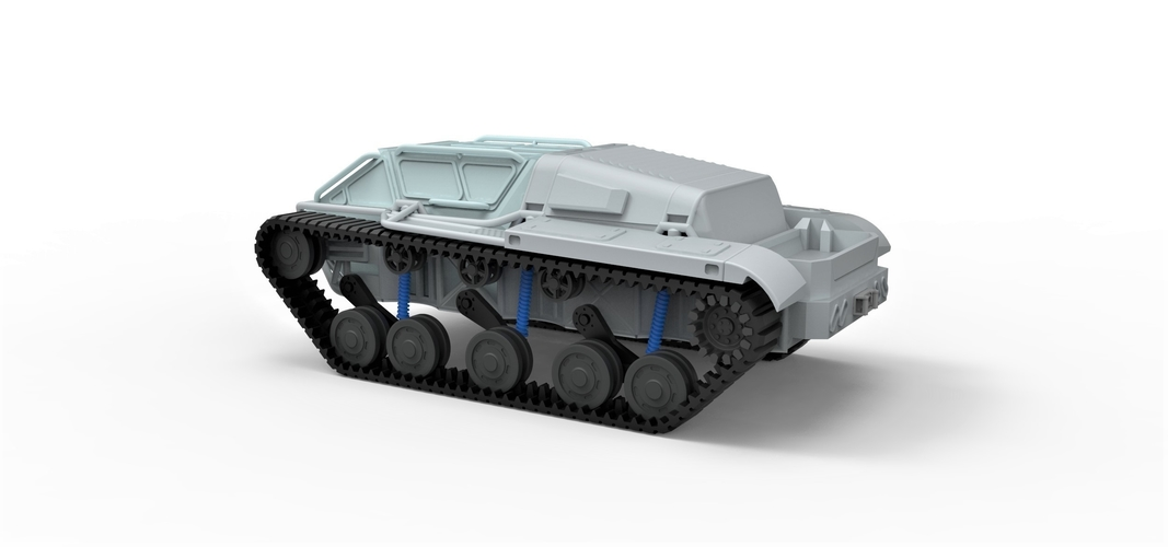 Diecast model Ripsaw EV3-F4 Scale 1 to 24 3D Print 245397
