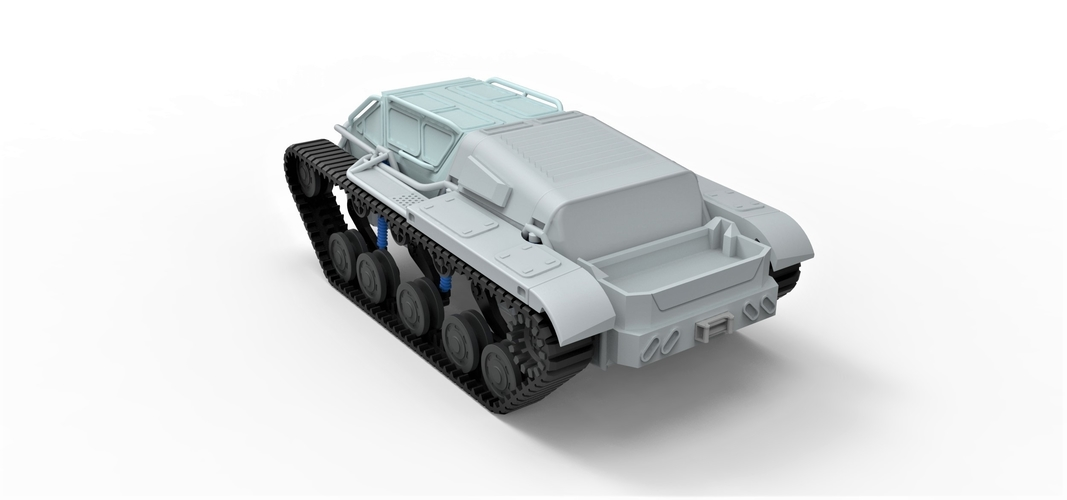 Diecast model Ripsaw EV3-F4 Scale 1 to 24 3D Print 245398