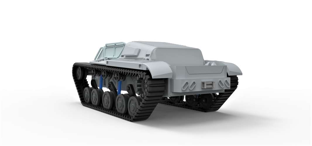 Diecast model Ripsaw EV3-F4 Scale 1 to 24 3D Print 245399