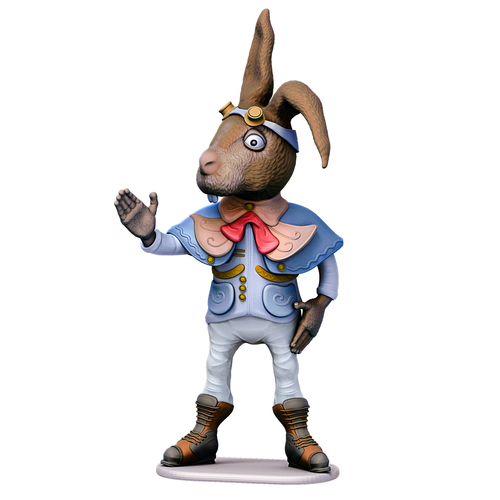 March Hare 3D Print 245463