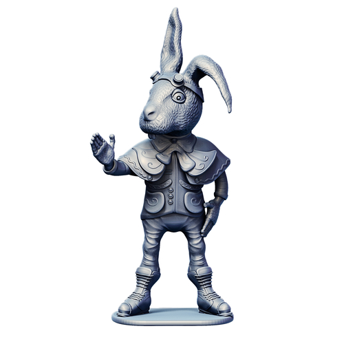 March Hare 3D Print 245464