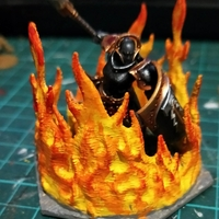 Small Fire Hex 3D Printing 245540