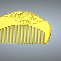 Small comb 1 3D Printing 245639